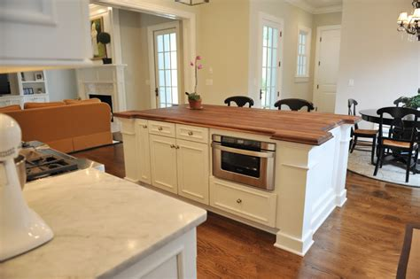 kitchen island with microwave drawer install kitchen island and change the entire look of 8256