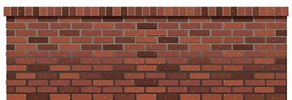 Brick Transparent Fence Clipart Background Wall Cliparts
