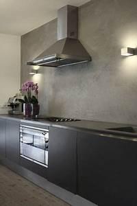 Zuhause Im Glück Badezimmer : anstelle fliesenspiegel ein fugenloser putz in betonoptik ~ Watch28wear.com Haus und Dekorationen