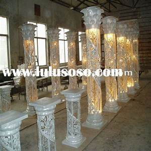 Pillars For Wedding