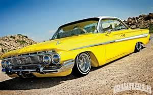 yellow hyundai genesis coupe chevy impala lowrider chevrolet chevy impala rod lowrider car custom 112480