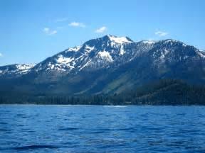 Mt. Tallac Lake Tahoe California
