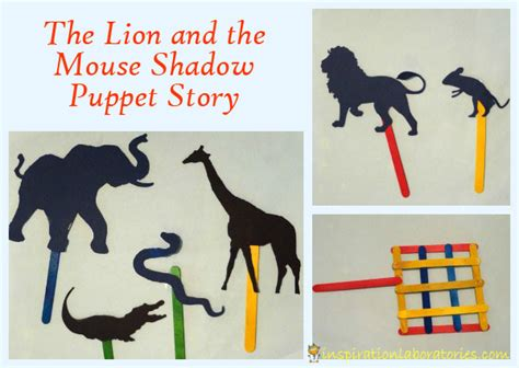 puppet stories for preschoolers the and the mouse shadow story 563