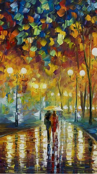 Painting Oil Iphone Canvas Wallpapers Paintings Leonid