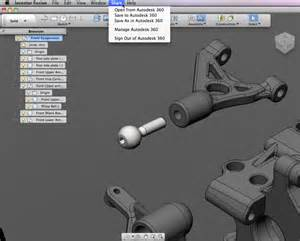 autodesk inventor fusion ready to bake your cad on a mac