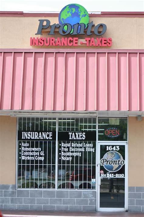 Northwest corner of p street & w. Pronto insurance near me - insurance