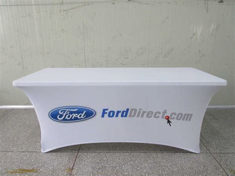 tension fabric table covers plastic table covers with logo decorative table decoration