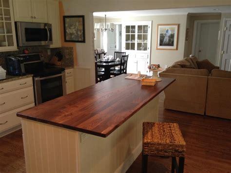 Black Walnut Countertops by Black Walnut Wood Countertops Traditional Kitchen