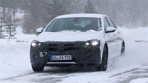 Yeni Opel Insignia 2020 by 2020 Opel Insignia Kış Testinde G 246 R 252 Nt 252 Lendi