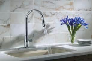 kohler kitchen sink faucets kohler k 596 vs simplice single pull kitchen faucet vibrant stainless touch on