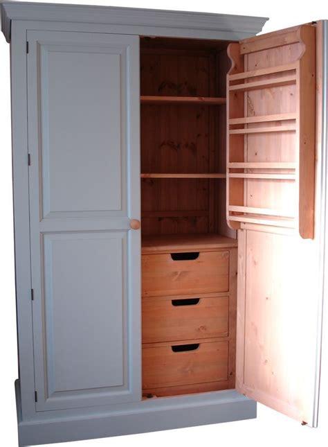 larder  provisions cupboard freestanding kitchen solid
