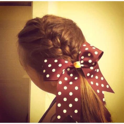 cute cheer hair hairstyles pinterest gymnasts