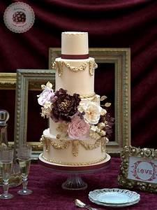 top 20 luxury vintage baroque wedding cakes roses