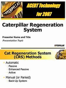 Caterpillar Regeneration System New Template