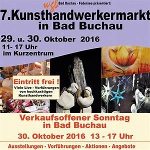 Verkaufsoffener Sonntag Mülheim Kärlich 2016 : verkaufsoffener sonntag und kunsthandwerkermarkt in bad buchau ~ Orissabook.com Haus und Dekorationen