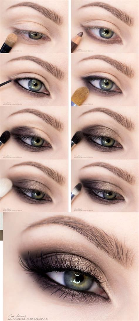 step  step smokey eye makeup tutorials  beginners