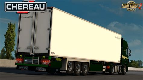 pack trailers chereau custom   ets mods scs