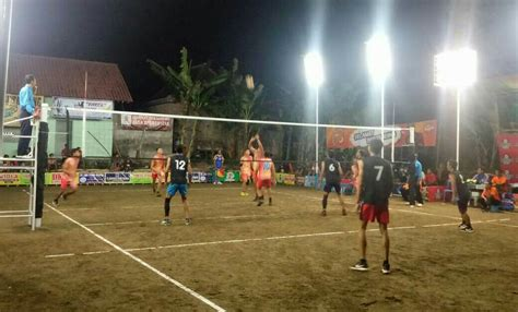 club ikuti turnamen bola voli mentaos  klemudan gaden