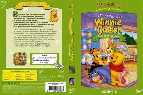 jaquette dvd de winnie l ourson le monde magique de winnie l ourson vol 5 cin 233 ma