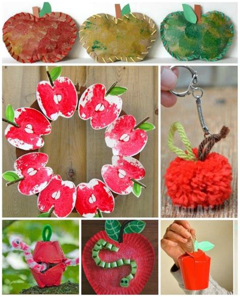 20 apple craft ideas ted s 945 | 20 Apple Crafts for Fall