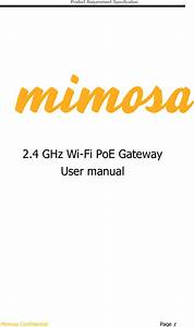 Mimosa Networks 100