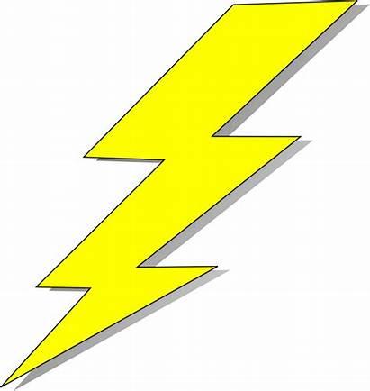 Lightning Bolt Transparent Clipart Clip Background Icon