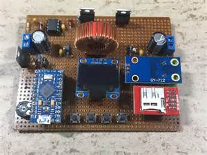 Atmegau Based Synchronous Mppt Buck Solar Charger