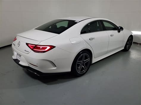 With coupe sensuality and four sensible doors, the first cls turned the tide. Pre-Owned 2020 Mercedes-Benz CLS 450 4MATIC Coupe   Polar White 20-561L
