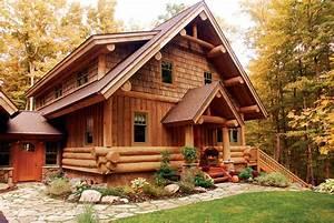 The Log House: Wooden homes or log houses - Ward Log Homes