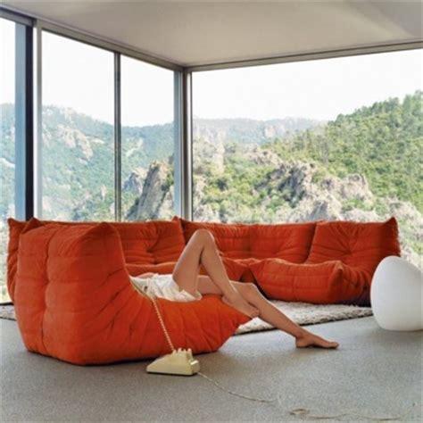 canape togo ligne roset ligne roset togo michel ducaroy modern living room