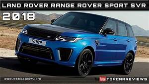 Range Rover Sport Dimensions : 2018 land rover range rover sport svr review rendered price specs release date youtube ~ Maxctalentgroup.com Avis de Voitures