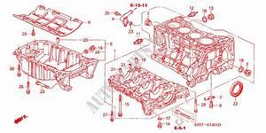Cylinder Block Oil Pan Type R Engine Type R 2001 Civic