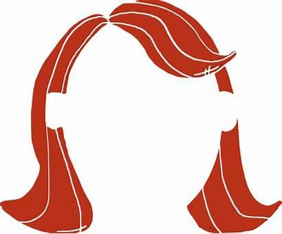 Hair Clip Clipart Wig Cliparts Straight Arts