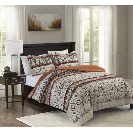Aztec Comforter Set by Better Homes Gardens Tufted Aztec Chenille 3