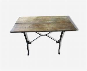 Table Bistrot Ancienne : table bistrot ancienne 1900 1930 bois mat riau marron art d co 130442 ~ Melissatoandfro.com Idées de Décoration
