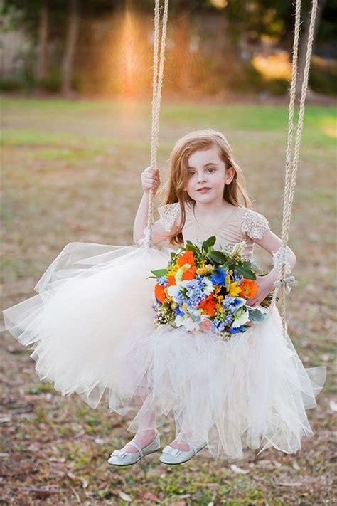 sweet flower girl dresses deer pearl flowers part