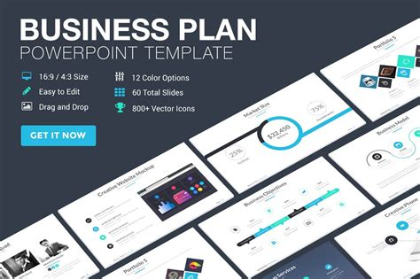 business plan powerpoint template powerpoint templates