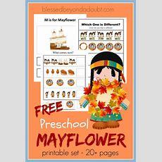 Free Preschool Mayflower Printable Pack  Free Homeschool Deals
