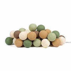 Lichterkette Cotton Balls : lichterkette forest green von cotton ball lights ~ Markanthonyermac.com Haus und Dekorationen