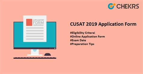 cusat   application eligibility exam date