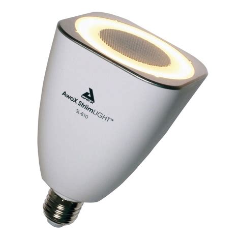 bluetooth light bulb awox striimlight bluetooth enabled led light bulb with