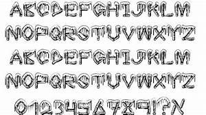 Ice Sticks font by Fontilizer - FontRiver