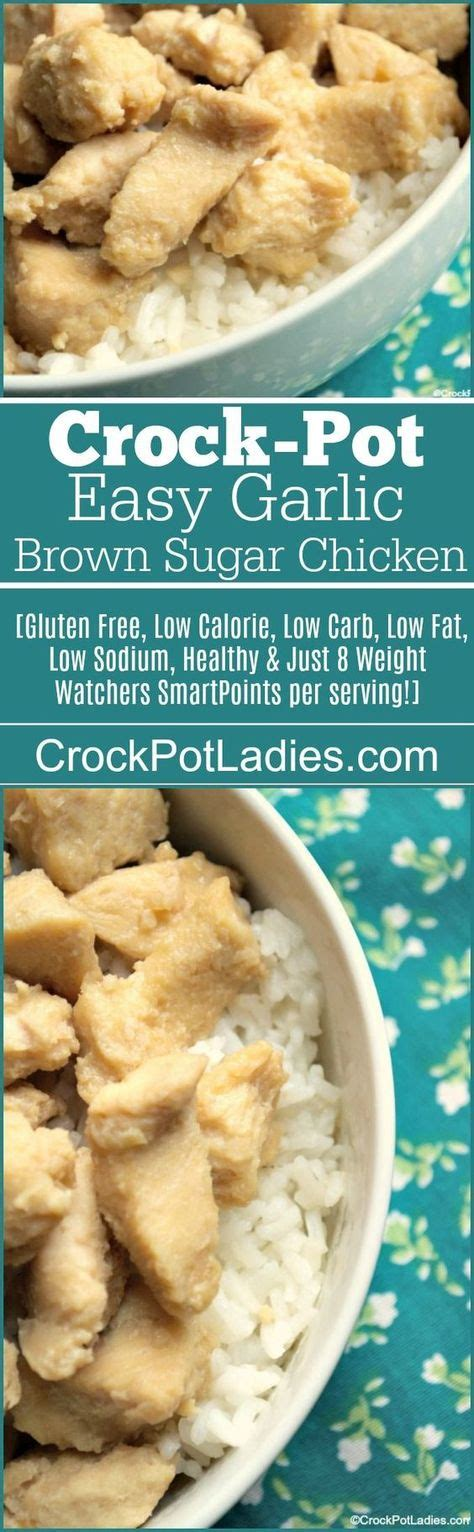 You must try this comforting low carb crock pot ham cauliflower potato stew. Crock-Pot Easy Garlic Brown Sugar Chicken | Recipe | Recipes, Crockpot recipes, Brown sugar chicken