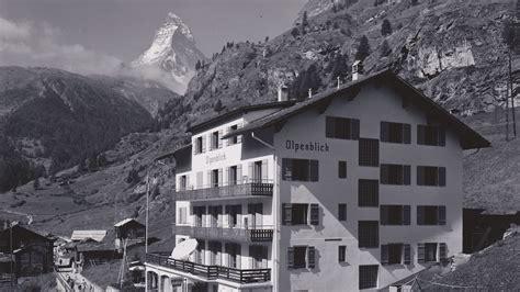 100 Jahre Hotel Alpenblick  Ein Jahrhundert Zermatter