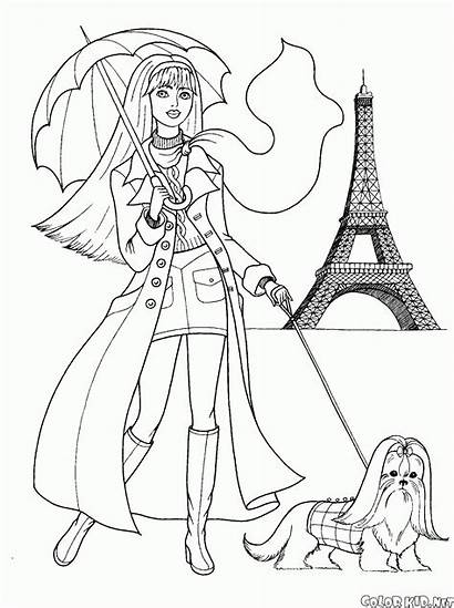 Coloring Trendy Paris
