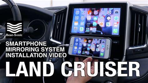 installation  toyota land cruiser smartphone