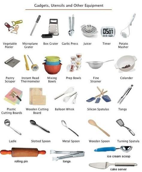 ustensile de cuisine anglais décorer fr ustensiles de cuisine en anglais