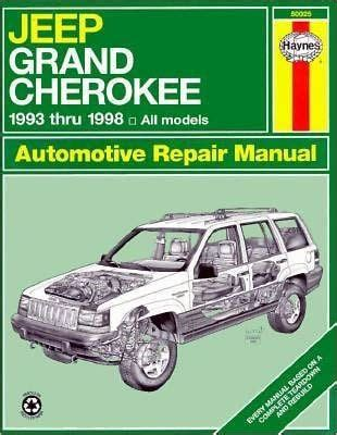 free car repair manuals 1993 jeep wrangler electronic valve timing jeep grand cherokee automotive repair manual all jeep grand cherokee models 1993 through 1998