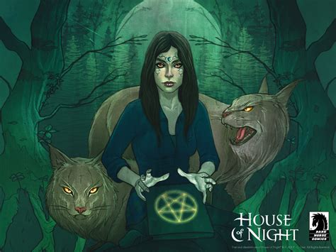 House Of Night  Desktops  Dark Horse Comics