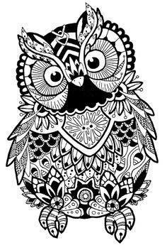 Image result for elephant mandala svg | Owl coloring pages, Coloring pages, Mandala svg